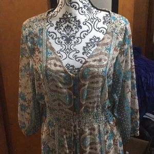 Ladies dress.  Never worn out. Sizes wrong